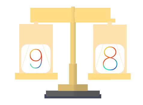 iOS 9 pro contro