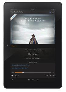 amazon music kindle testi canzoni