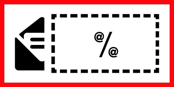 email in cambio del codice sconto